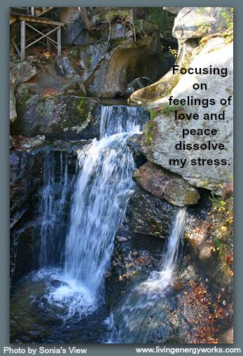 Stress Reduction Practice and Energy Tip