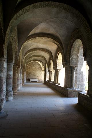 Cloister-Tournus by Sonia's View