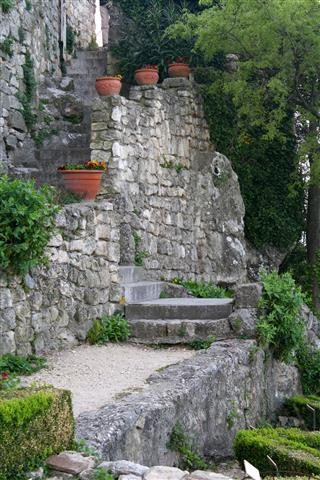 Stairway - La Garde Adhemar by Sonia's View