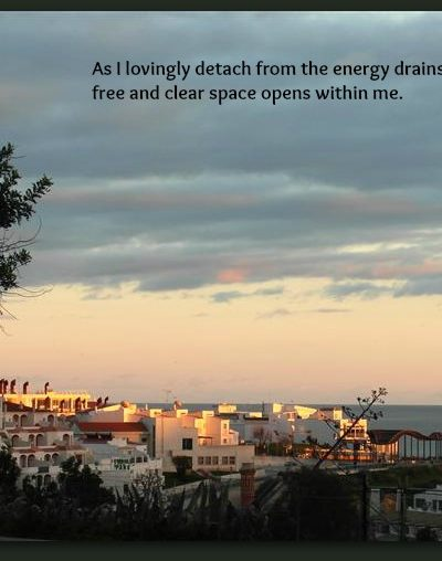 Detaching from Energy Drains