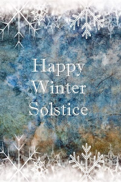 Thoughts for the Winter Solstice